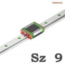 Блок системы линейного перемещения, MGN9HZ1HM