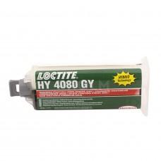 Вибростойкий ударнопрочный клей (требуется дозатор и пистолет), прозрачный, LOCTITE HY 4080 CR, 50г
