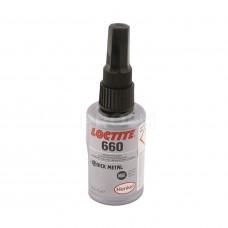 Вал-втулочный фиксатор высокой прочности для увеличенных зазоров (гель), LOCTITE 660, 50мл