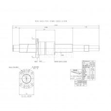 Шариковинтовой привод, R40-5K5-FDC-2189-2352-0.018