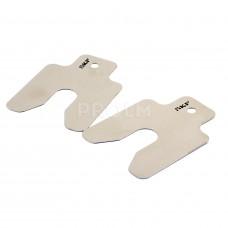 Калиброванные пластины 50 x 50мм, 0,25мм, толщиной , (1упк-10шт.) TMAS 50-025