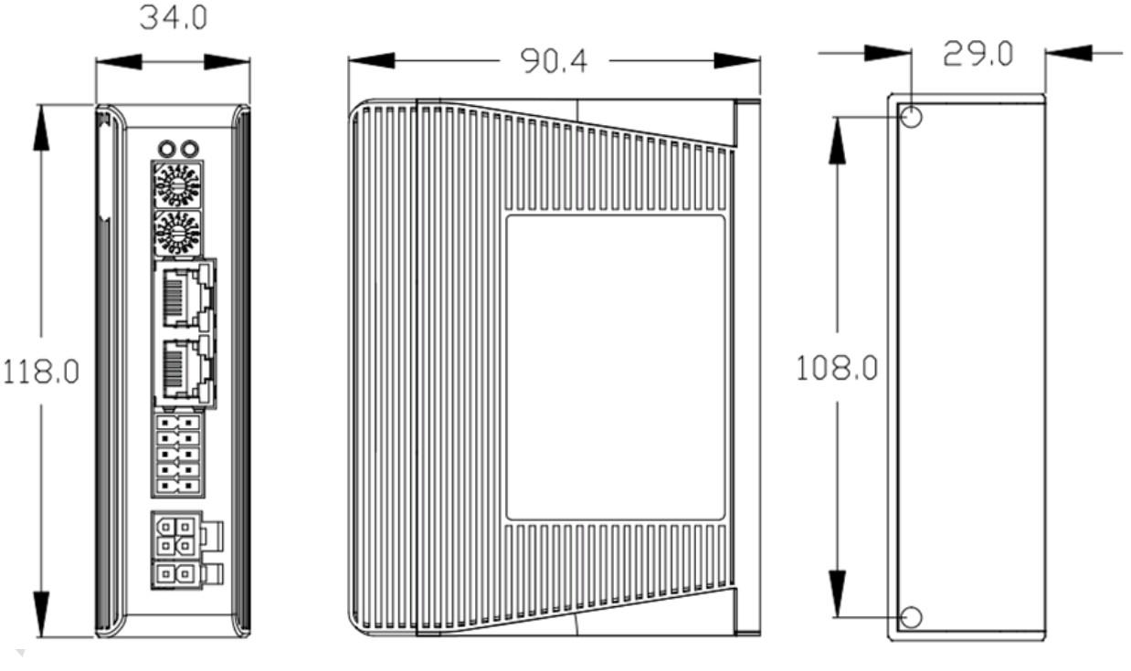 Драйвер шагового двигателя с сетевым протоколом управления  Leadshine EM3E-870