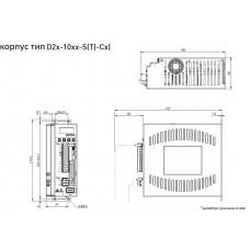 Драйвер серводвигателя D2T-1023-S-C4