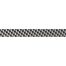 Закаленная косозубая рейка 0206R100C10