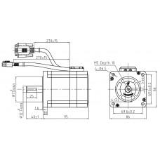 Шаговый двигатель с обратной связью CS-M23435-S