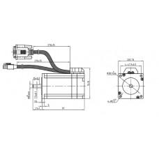 Шаговый двигатель с обратной связью ES-M32320