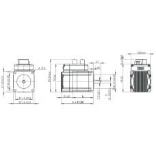 Шаговый двигатель с обратной связью и встроенным драйвером IES-2320