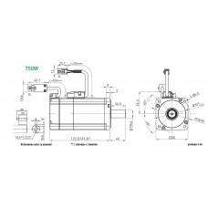 Серводвигатель EM1-C-M-75-2-0-E-0-D