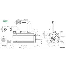 Серводвигатель EM1-C-M-40-2-B-E-0-D