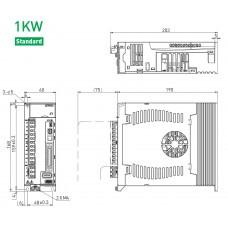 Универсальный серводрайвер ED1S-VN-1022-00